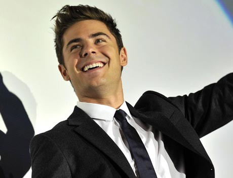 Zac Efron not a party animal
