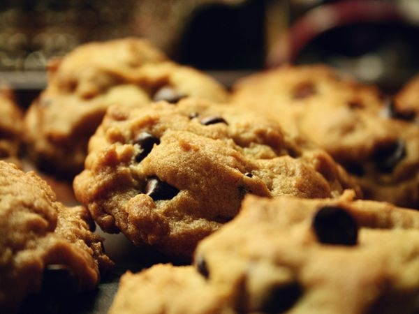 Healthy Desserts - Real Food Chocolate Chip Cookies