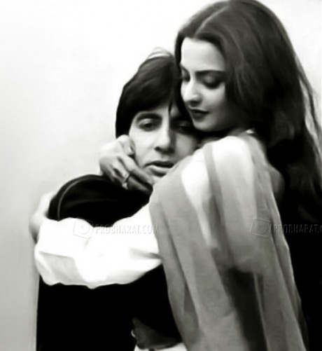 Rekha-Big B