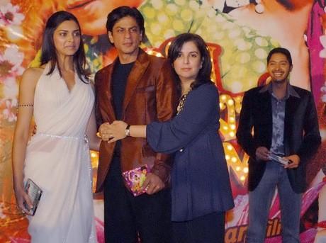 SRK, Farah