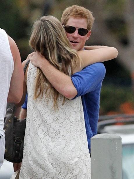 Prince Harry now seen hugging blonde model