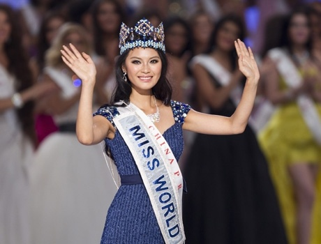 Miss China crowned Miss World 2012, Vanya Mishra reaches top 7