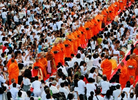 Half of Thailand's Buddhist monks are obese: Study