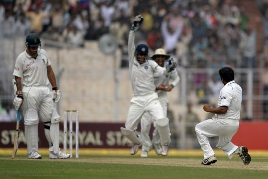 2nd Test, India vs South Africa, February 2010