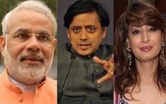 Narendra Modi and Shashi Tharoor become BFF