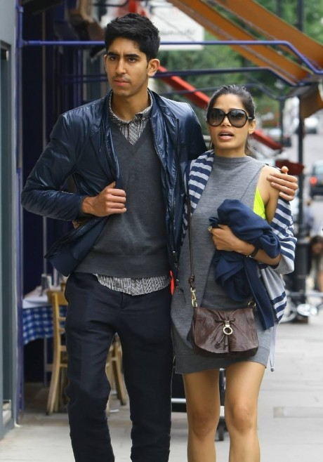 dev patel and freida pinto dating 2012