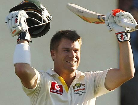 Warner inflicts ton of pain on India