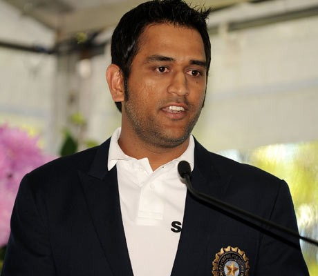 Dhoni hints at Test retirement by 2013