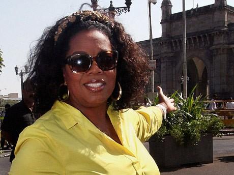 India's Oprah Winfrey wants to meet the real Oprah