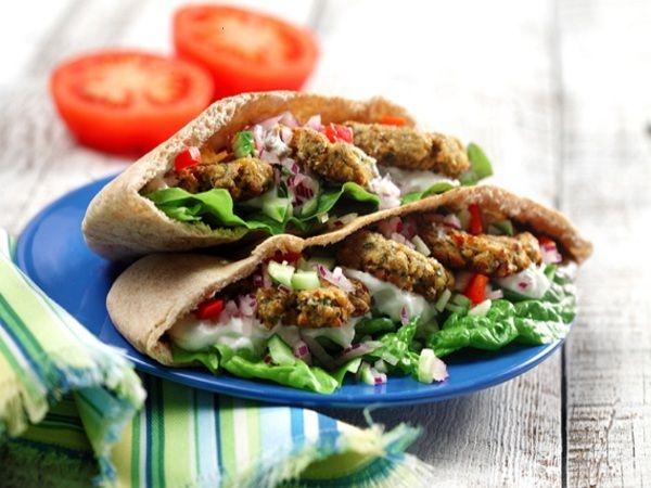 Chef Recipes: Oven-Roasted Falafel