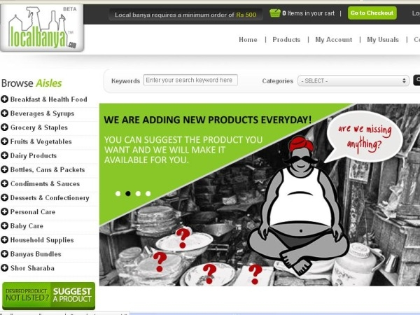 New Website Review: LocalBanya.com - Your Online Convenience Store