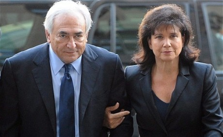 France's Strauss-Kahn and wife
