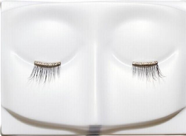Gold and Diamond eyelashes