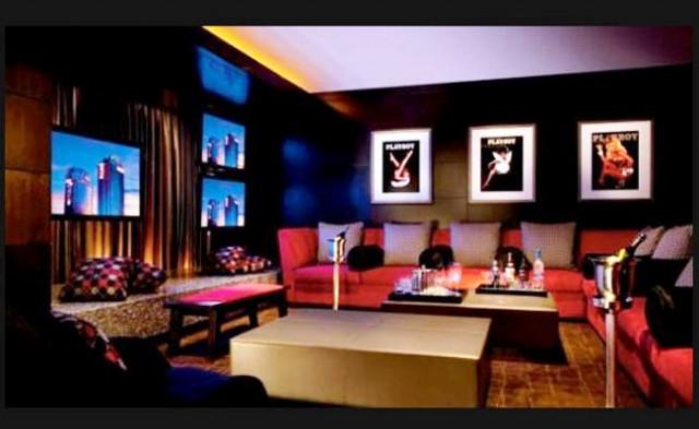 Hugh Hefner Sky Villa Palms Resort