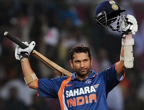 Sachin scores 200