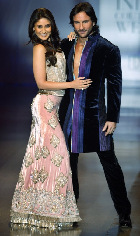 Saif Ali Khan and Kareena Kapoor