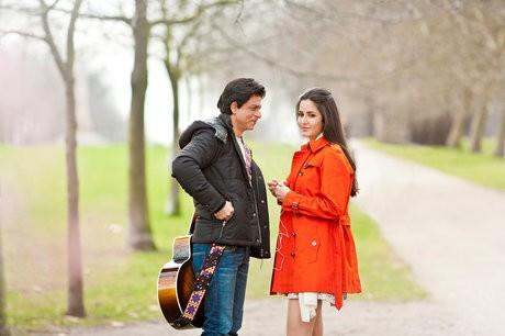Shah Rukh Khan and Katrina Kaif in London