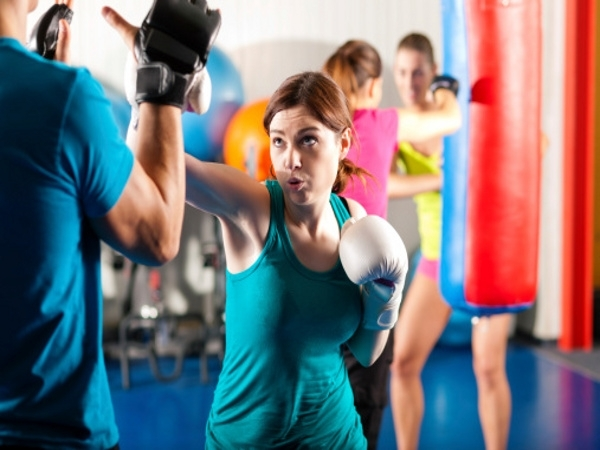 Melt Body Fat With This Kickboxing Workout [video]