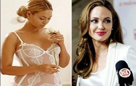 Beyonce, Jolie