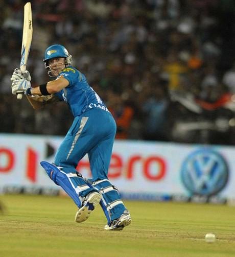 Pune Warriors banking on Clarke against Mumbai Indians