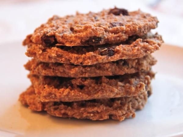 Oatmeal, Raisin, Coconut and Chia Seed Cookies