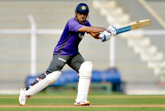 Captain Cool in Hot Seat