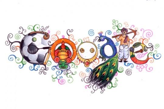 U0027Doodle 4 Google India 2012u0027 Winner On Google Homepage