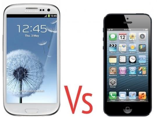 'Samsung Galaxy S III Beats iPhone 4S'
