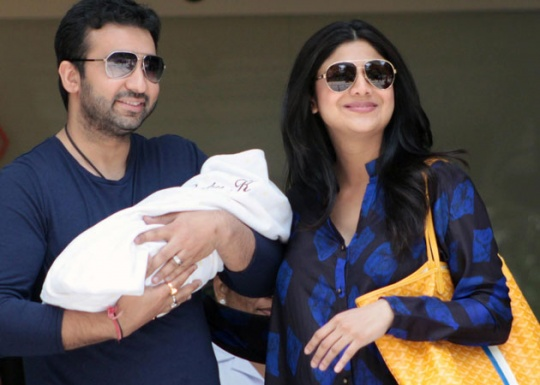 Baby boy for Raj & Shilpa