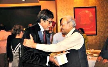 Amitabh Bachchan and Pran