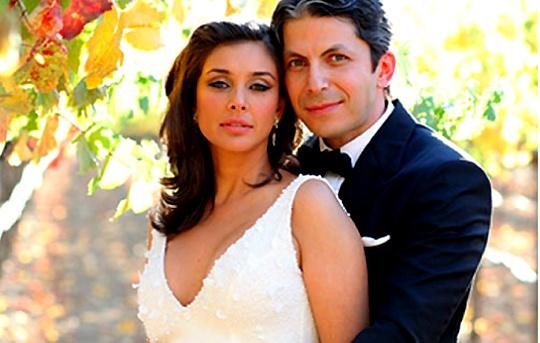 Lisa Ray with husband Jason Dehni
