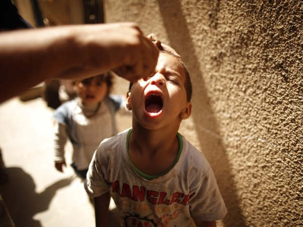 Polio-Free Southeast Asia Within Reach: WHO
