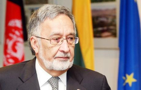 Afghan Foreign Minister Zalmai Rassoul
