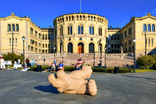 Norway Parliament Evacuated After a Small Blast
