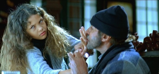 Ayesha Kapur and Amitabh Bachchan in Black