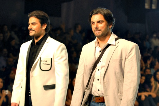Arbaaz Khan and Sohail Khan