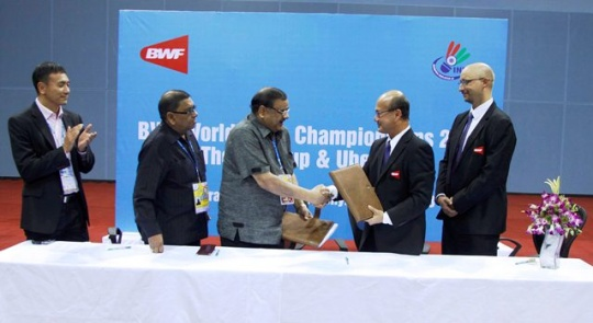 Delhi To host Thomas and Uber Cup Finals in May 2014