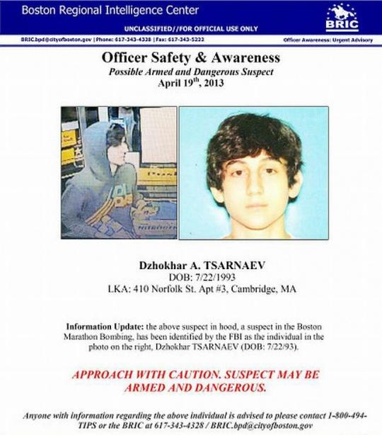Boston Bombings Suspect