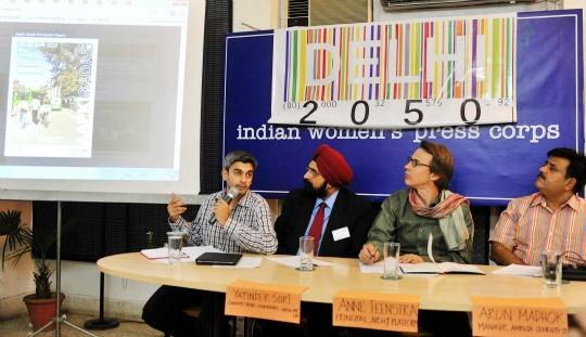 Online Project to Recreate Delhi in 2050