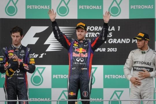 Vettel and I Share Great Camaraderie: Webber