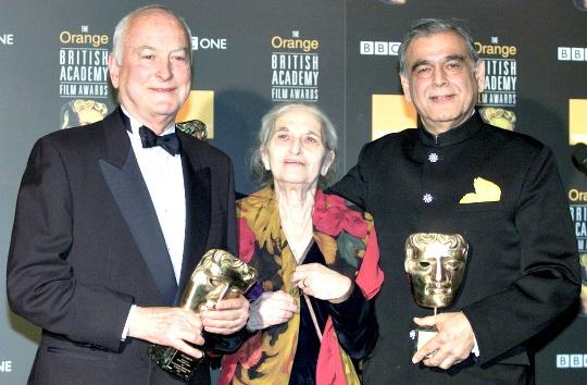 James Ivory, Ruth Prawer Jhabvala and Ismail Merchant