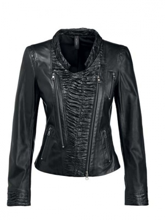 Leather Jacket by Marc Cain