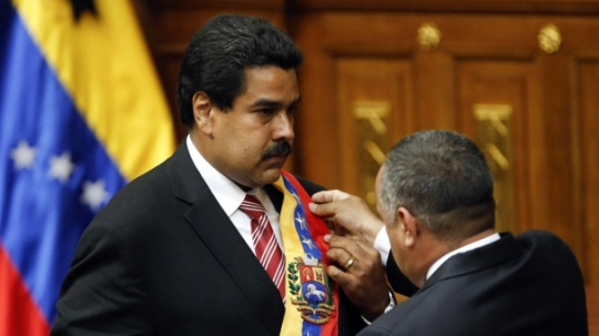 Maduro Sworn In As Venezuelan President