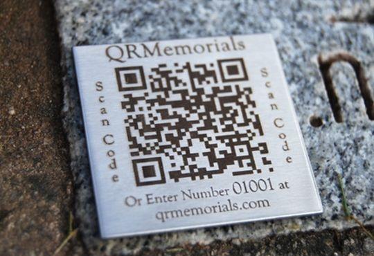 cemetery qr code