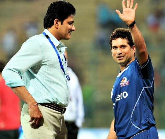 40 is Just a Number: Kumble Tells Sachin