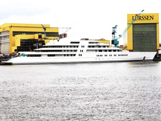 The Largest Private Yacht in the World