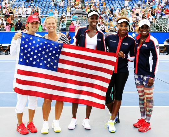 Williams Sisters Lead USA to 3-2 Victory