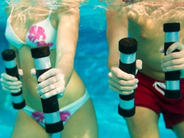 Underwater Workouts : The New Fitness Fad
