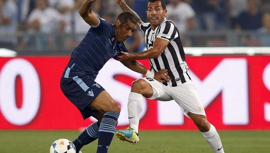 Carlos Tevez On Target For Juventus