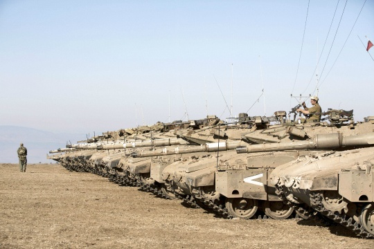 Israel Deploys Iron Dome Defence System